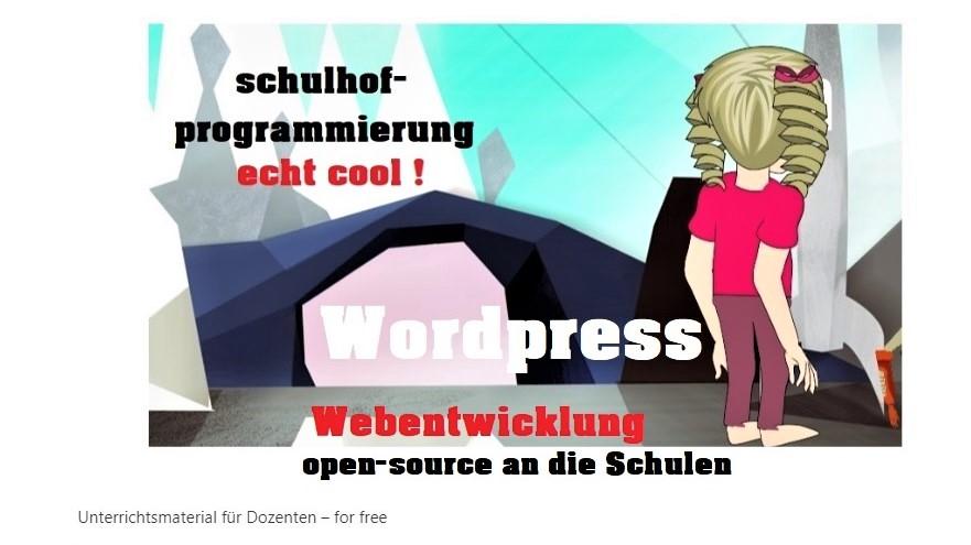 unterrichtsmaterial für lehrer und schulen kostenlos programmierung, webentwicklung projekt
