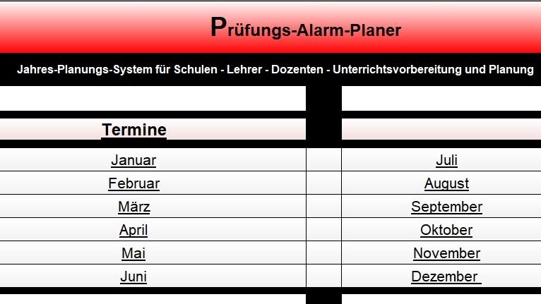 Jahresplanungs-System- Unterrichtsplaner