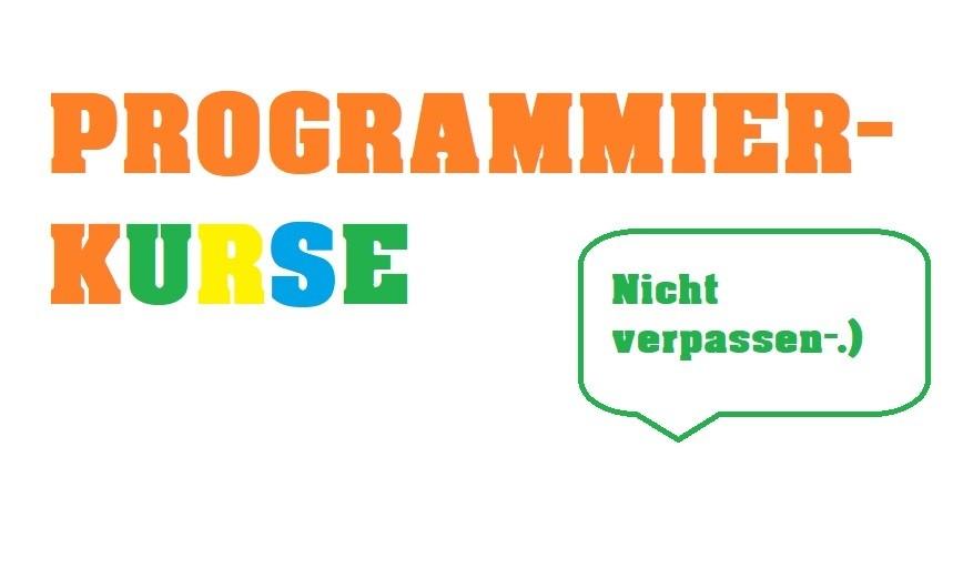 Programmier-Kurse for free